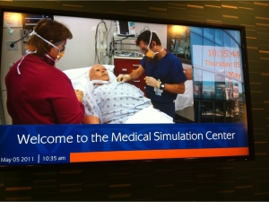 Simulation Center work