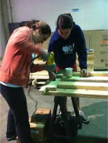 Using Power Tools Requires Problem-Solving, Creativity, and Teamwork