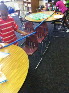 Primary students build bridges