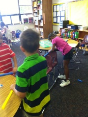 Discovering Bending Moment in First Grade
